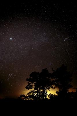 Orion ja linnunrata