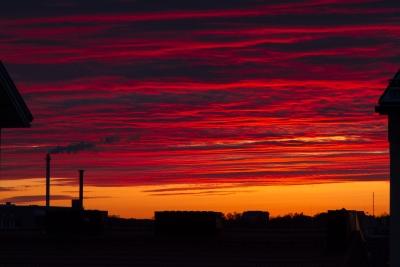 Punaista taivaalla